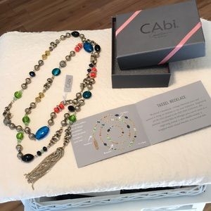 """NWT Cabi Style #2008 """" Tassel Necklace"""""""